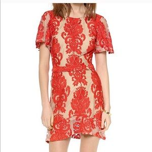 For Love & Lemons San Marcos Mini Lace Dress